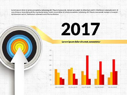 Bullseye Infographics, Slide 6, 03487, Infographics — PoweredTemplate.com