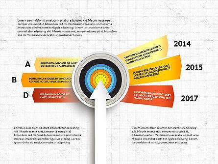 Bullseye Infographics, Slide 7, 03487, Infographics — PoweredTemplate.com