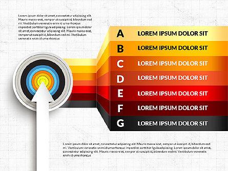 Bullseye Infographics, Slide 8, 03487, Infographics — PoweredTemplate.com