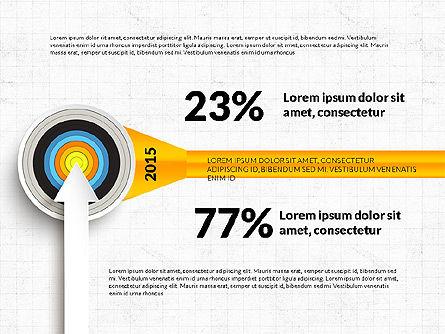 Bullseye Infographics, Slide 9, 03487, Infographics — PoweredTemplate.com