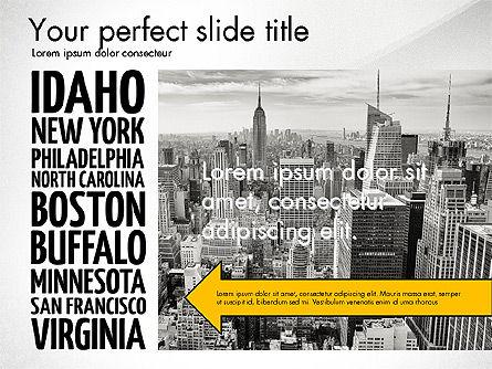 USA Presentation Template, Slide 2, 03488, Presentation Templates — PoweredTemplate.com