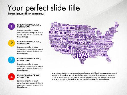 USA Presentation Template, Slide 4, 03488, Presentation Templates — PoweredTemplate.com