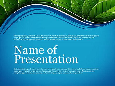 Illustrative Presentation Deck, 03489, Presentation Templates — PoweredTemplate.com
