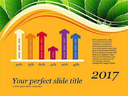 Illustrative Presentation Deck, Slide 14, 03489, Presentation Templates — PoweredTemplate.com