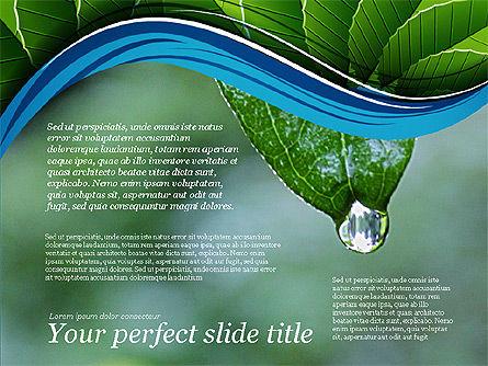 Illustrative Presentation Deck, Slide 3, 03489, Presentation Templates — PoweredTemplate.com