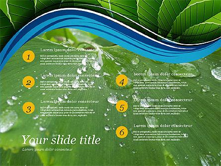 Illustrative Presentation Deck, Slide 7, 03489, Presentation Templates — PoweredTemplate.com
