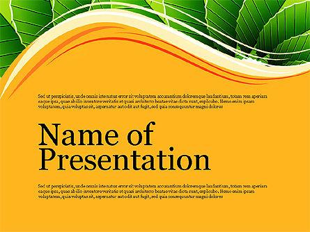 Illustrative Presentation Deck, Slide 9, 03489, Presentation Templates — PoweredTemplate.com