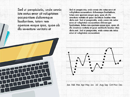 Creative Report Presentation Concept, 03491, Presentation Templates — PoweredTemplate.com