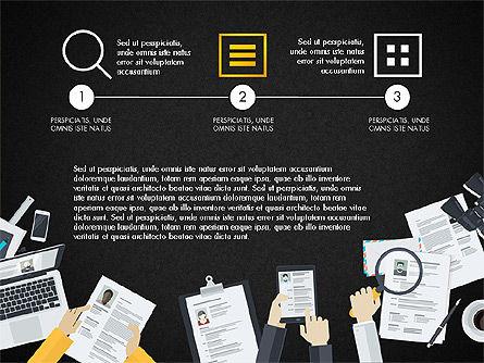 Creative Report Presentation Concept, Slide 10, 03491, Presentation Templates — PoweredTemplate.com