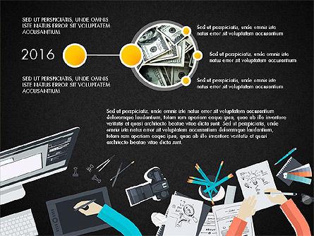 Creative Report Presentation Concept, Slide 12, 03491, Presentation Templates — PoweredTemplate.com