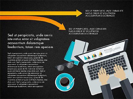 Creative Report Presentation Concept, Slide 13, 03491, Presentation Templates — PoweredTemplate.com