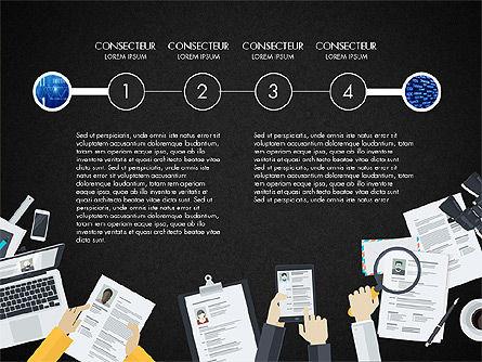 Creative Report Presentation Concept, Slide 14, 03491, Presentation Templates — PoweredTemplate.com