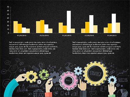 Creative Report Presentation Concept, Slide 15, 03491, Presentation Templates — PoweredTemplate.com