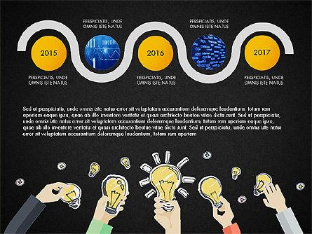 Creative Report Presentation Concept, Slide 16, 03491, Presentation Templates — PoweredTemplate.com