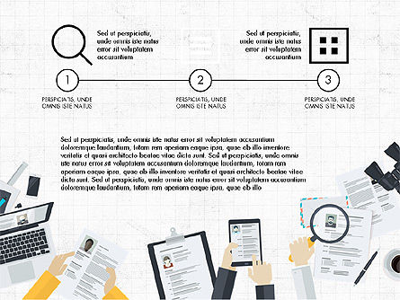 Creative Report Presentation Concept, Slide 2, 03491, Presentation Templates — PoweredTemplate.com