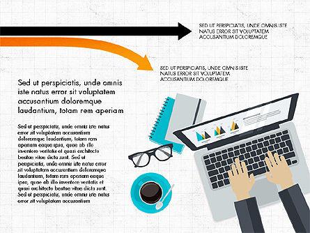 Creative Report Presentation Concept, Slide 5, 03491, Presentation Templates — PoweredTemplate.com