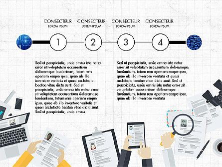 Creative Report Presentation Concept, Slide 6, 03491, Presentation Templates — PoweredTemplate.com