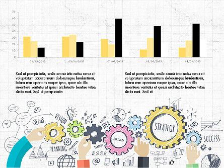 Creative Report Presentation Concept, Slide 7, 03491, Presentation Templates — PoweredTemplate.com