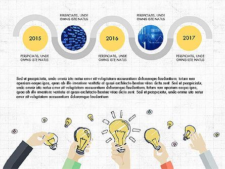 Creative Report Presentation Concept, Slide 8, 03491, Presentation Templates — PoweredTemplate.com