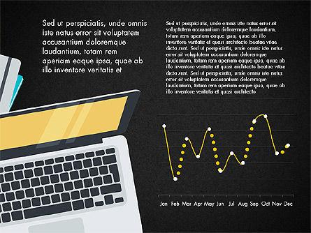 Creative Report Presentation Concept, Slide 9, 03491, Presentation Templates — PoweredTemplate.com