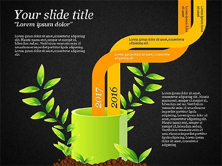 Sprout Infographics, Slide 11, 03492, Infographics — PoweredTemplate.com