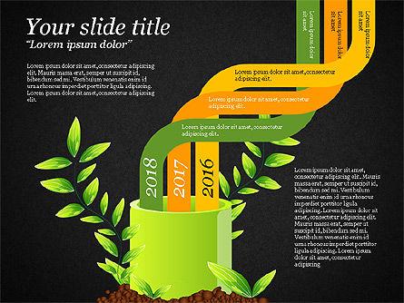 Sprout Infographics, Slide 12, 03492, Infographics — PoweredTemplate.com