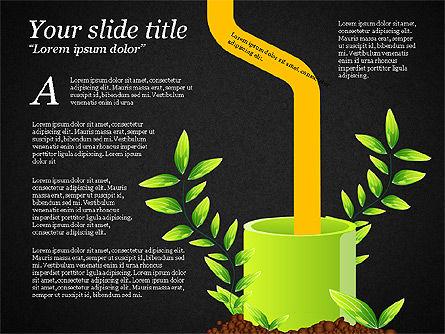 Sprout Infographics, Slide 13, 03492, Infographics — PoweredTemplate.com