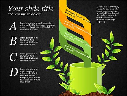 Sprout Infographics, Slide 16, 03492, Infographics — PoweredTemplate.com
