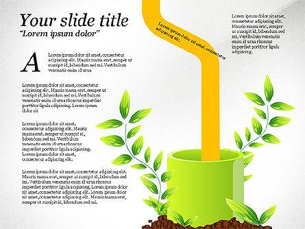 Sprout Infographics, Slide 5, 03492, Infographics — PoweredTemplate.com
