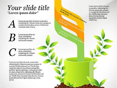 Sprout Infographics, Slide 7, 03492, Infographics — PoweredTemplate.com