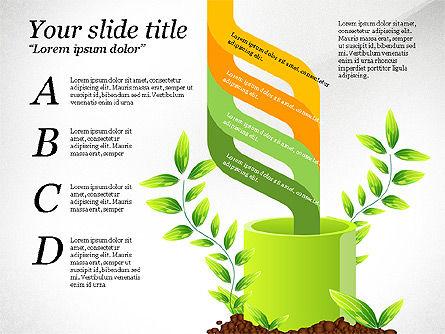 Sprout Infographics, Slide 8, 03492, Infographics — PoweredTemplate.com