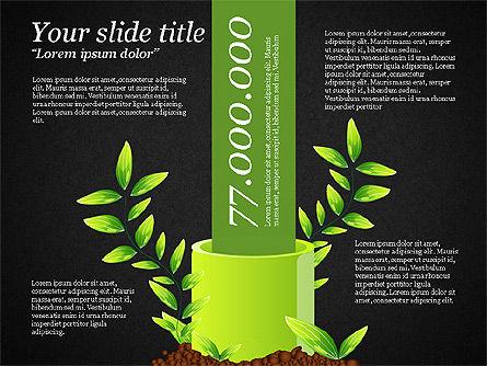 Sprout Infographics, Slide 9, 03492, Infographics — PoweredTemplate.com