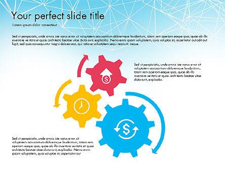 Flat Designed Creative Report Deck, Slide 5, 03493, Presentation Templates — PoweredTemplate.com