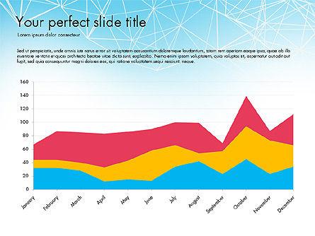 Flat Designed Creative Report Deck, Slide 6, 03493, Presentation Templates — PoweredTemplate.com