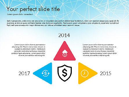 Flat Designed Creative Report Deck, Slide 8, 03493, Presentation Templates — PoweredTemplate.com