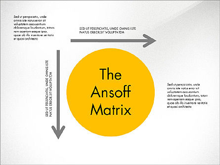 Business Models: Ansoff Matrix #03494