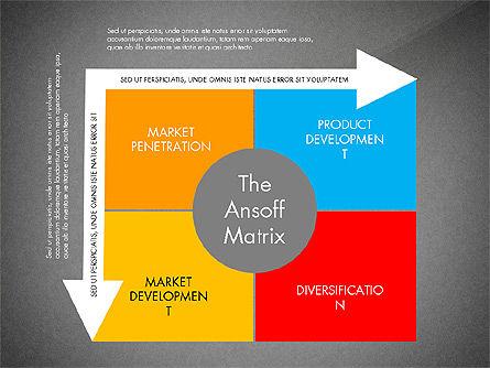 Ansoff Matrix, Slide 11, 03494, Business Models — PoweredTemplate.com