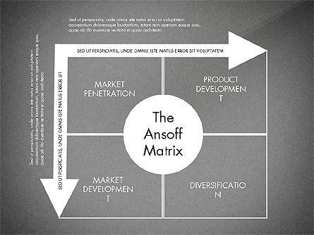 Ansoff Matrix, Slide 12, 03494, Business Models — PoweredTemplate.com