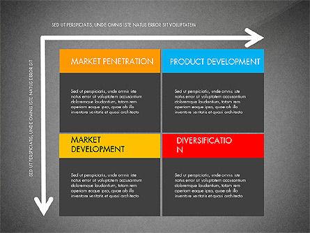 Ansoff Matrix, Slide 13, 03494, Business Models — PoweredTemplate.com