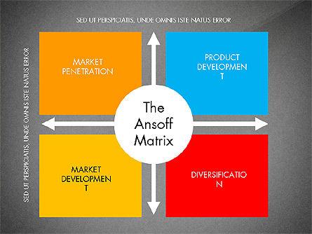 Ansoff Matrix, Slide 15, 03494, Business Models — PoweredTemplate.com
