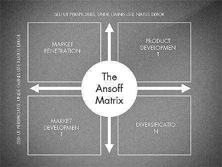 Ansoff Matrix, Slide 16, 03494, Business Models — PoweredTemplate.com
