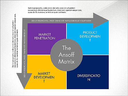 Ansoff Matrix, Slide 3, 03494, Business Models — PoweredTemplate.com