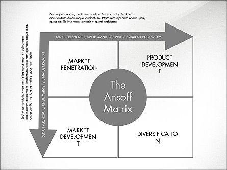 Ansoff Matrix, Slide 4, 03494, Business Models — PoweredTemplate.com