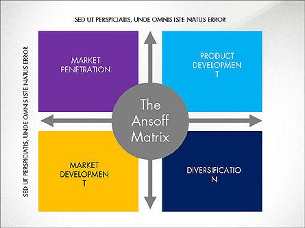 Ansoff Matrix, Slide 7, 03494, Business Models — PoweredTemplate.com