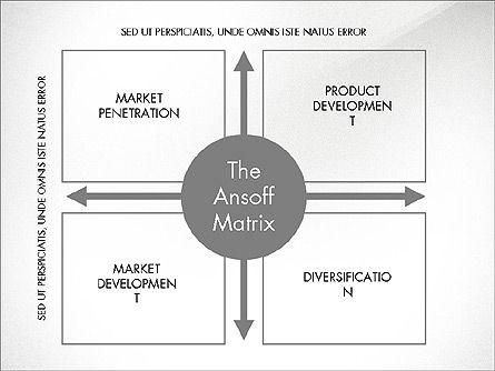 Ansoff Matrix, Slide 8, 03494, Business Models — PoweredTemplate.com