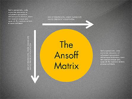 Ansoff Matrix, Slide 9, 03494, Business Models — PoweredTemplate.com