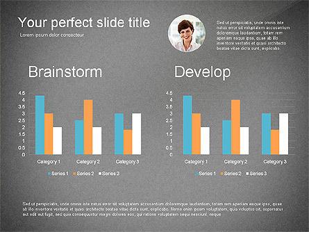 Creativity Stages Presentation, Slide 10, 03496, Presentation Templates — PoweredTemplate.com