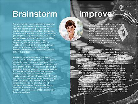 Creativity Stages Presentation, Slide 11, 03496, Presentation Templates — PoweredTemplate.com