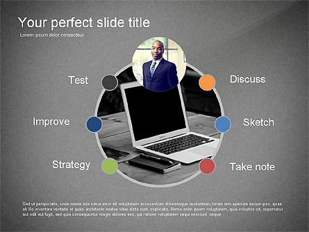 Creativity Stages Presentation, Slide 12, 03496, Presentation Templates — PoweredTemplate.com