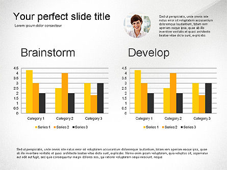 Creativity Stages Presentation, Slide 2, 03496, Presentation Templates — PoweredTemplate.com